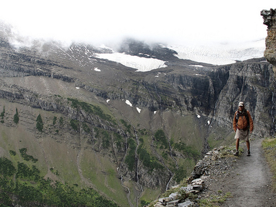 Triple Divide TrailViews - Glacier - Montana - USA