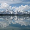 Triple Glaciers - Grand Tetons - Wyoming - USA