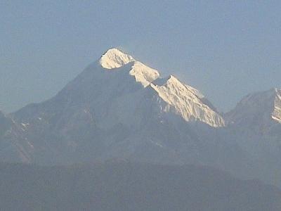 Trisul From Kausani UT Himalayas