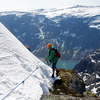 Trolltunga Trail In Winter