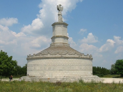 The Tropaeum Traiani Monument In Adamclisi