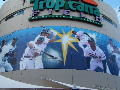 Tropicana Field Baseball