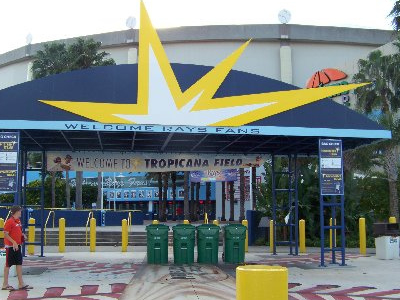 Tropicana Field - St. Petersburg