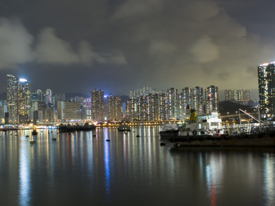 Tsuen Wan At Night