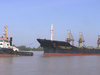 Tug With Bulk Carrier