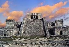 Tulum Mayan Ruins In QROO