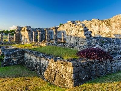 Tulum Ruins At Yucatan