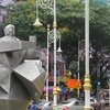 Tun Sambanthan Sculpture