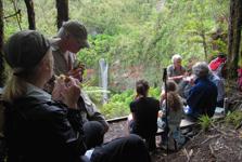 Tupapakurua Falls Hikers