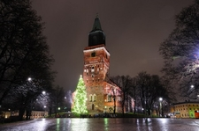 Turku Finland - Cathedral Square