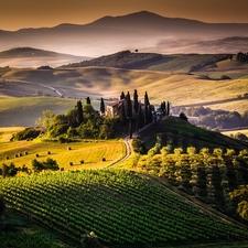 Tuscany Landscape - Italy