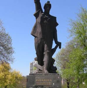 Statue Dedicated