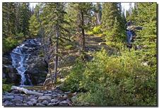 Twin Falls Trail - Glacier - Montana - USA