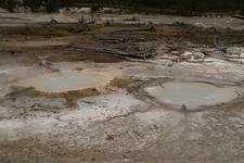 Twin Geysers - Yellowstone - USA