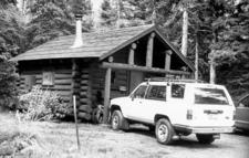 Two Medicine Campground Camptender's Cabin - Glacier - USA