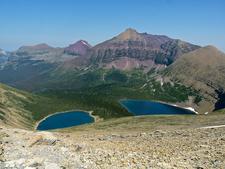 Two Medicine Pass Trail At Glacier - Montana - USA
