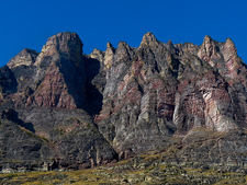 Two Medicine Pass Trail Views - Glacier - Montana - USA