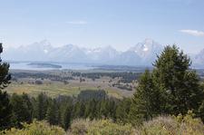 Two Ocean & Emma Matilda Trail Views - Grand Tetons - Wyoming - USA