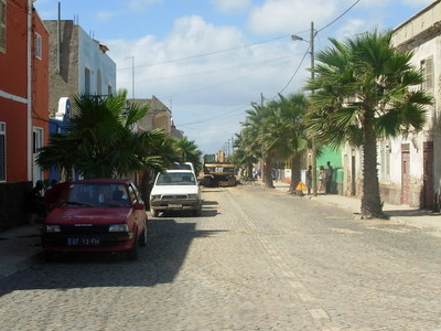 Typical Street In  Santa  Maria