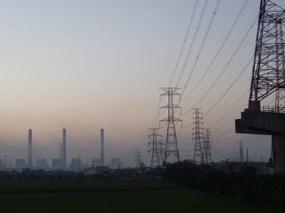 Outgoing Transmission Line From Taichung Power Plant