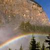 Rainbow Over Takakkaw Falls