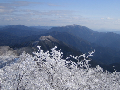 Eastside View Of Mount Takami