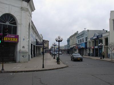 Talca Main Comercial Street