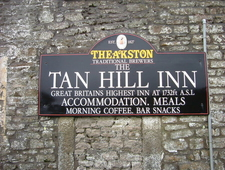 Tan Hill Sign
