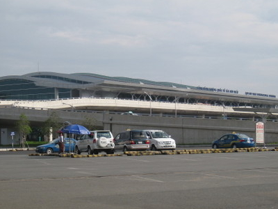 Tan Son Nhat Intl Terminal Outside