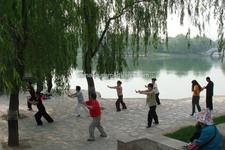 Taoranting Park Beijing China Exercising