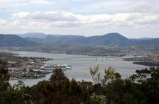 Tasman Bridge From Mount Nelson