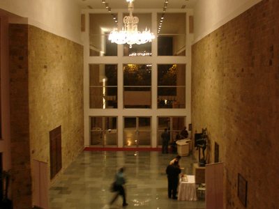 Tata Theater Foyer