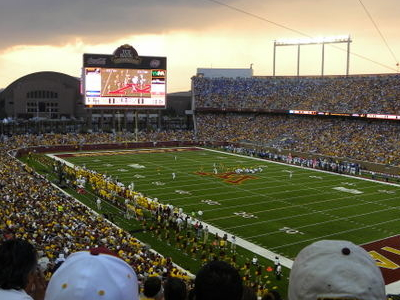 TCF Band Stadium During The Match