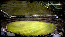 Interior Of The Docklands Stadium