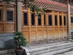 Templo de los Seis Árboles Banyan