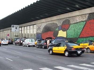 Terminal 2B With Artwork