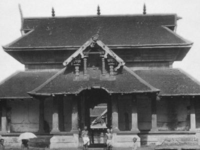 Thali  Temple  2 C  Malabar  District