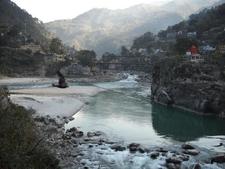 The Alaknanda River