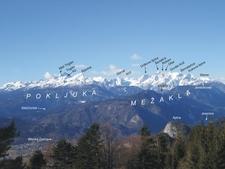 The Eastern Julian Alps And Mount Triglav
