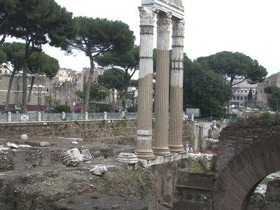 Forum Of Caesar And Venus Genetrix Temple