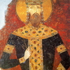 The Fresco Of King Milutin Bogorodica Ljevika