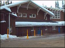 The Historic Badger Pass Ski Lodge