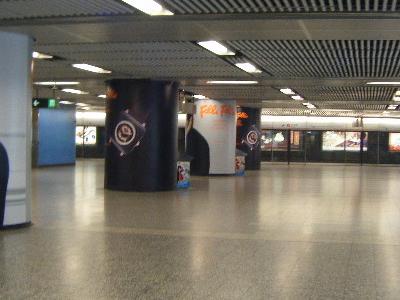 The  Interchange  Passageway In  M T R  Admiralty  Station