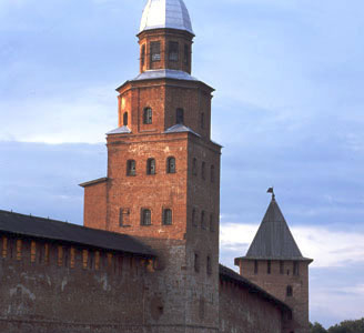The Medieval Walls Of Novgorod Pictured Withstood Many Sieges