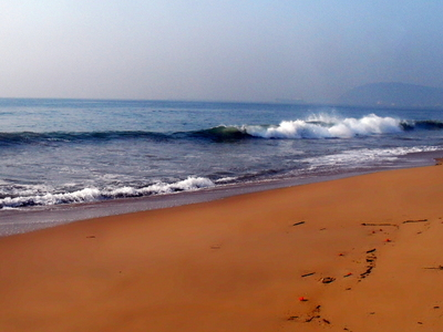 The Ramakrishna Mission Beach After Sunrise