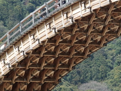 The Under Side Of Kintai Bridge