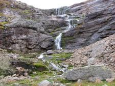 Waterfall In Urho Kekkonen National Park