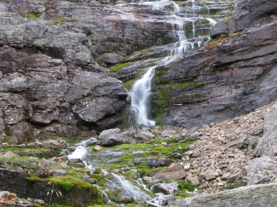 Waterfall In Urho Kekkonen National Park