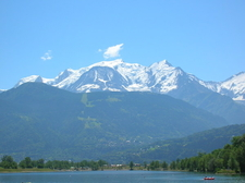 The West Face Of Mont Blanc