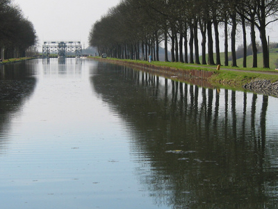 Old Section Of The Canal